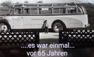 Bus in der Sudentenstraße 1965